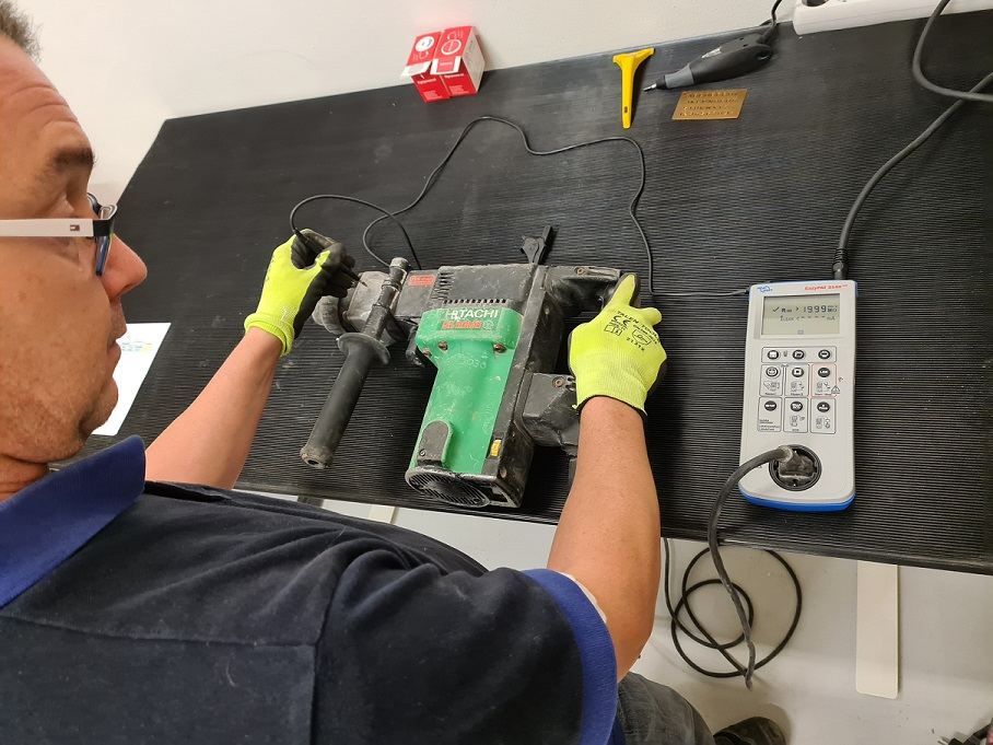 keurmeester elektrisch gereedschap